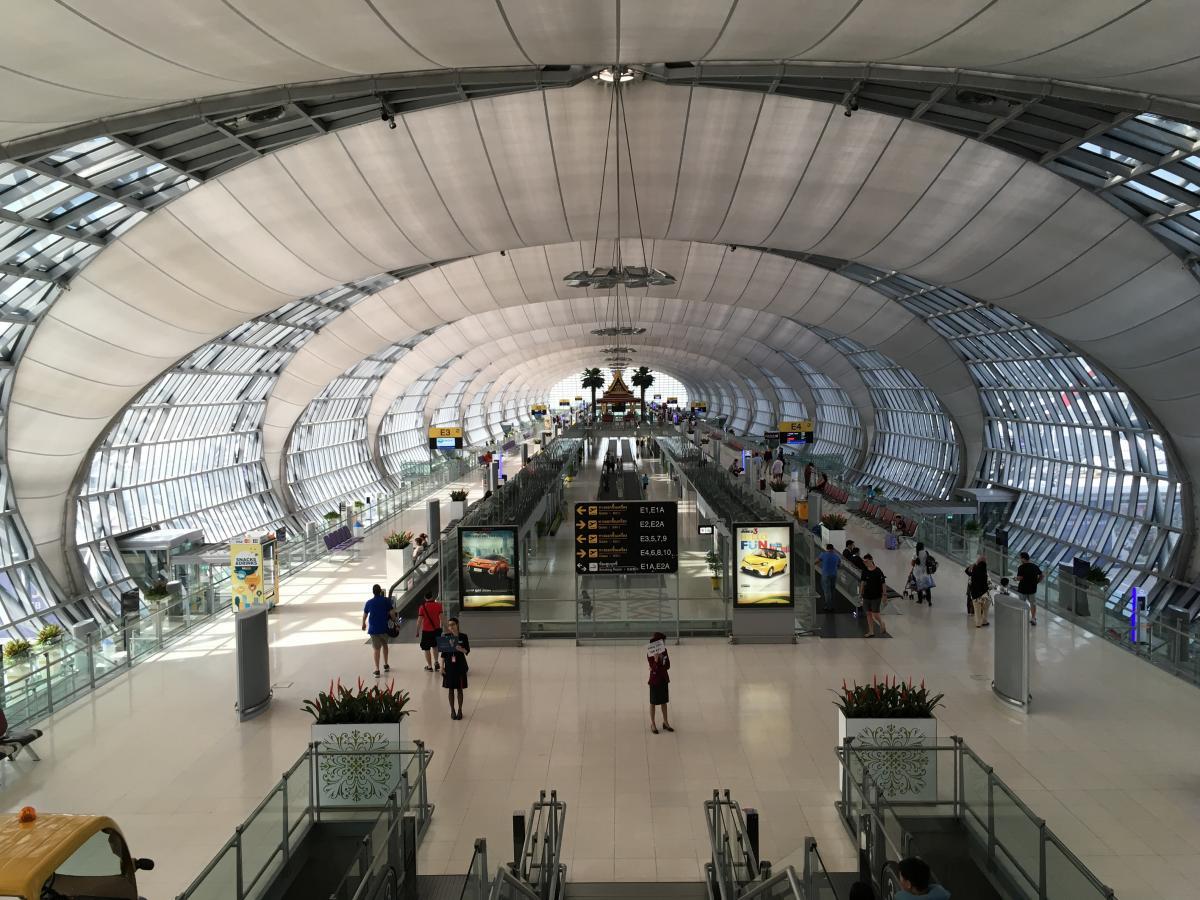 Bangkok Suvarnabhumi reptér