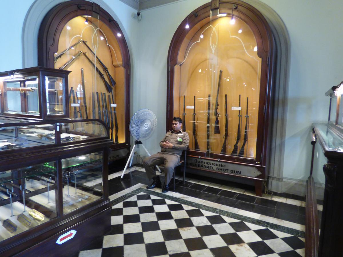 Bangkok Királyi Palota fegyvergyűjtemény